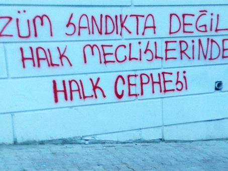 """""""DHKP-C sobre eleições de junho de 2018 na Turquia"""""""