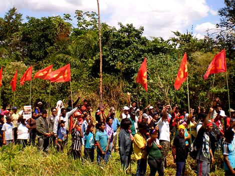 Polícia impõe cerco e ameaça camponeses em Rondônia