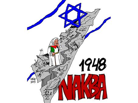 """""""A catástrofe do povo palestino em 1948"""""""