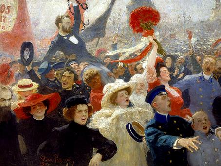 """""""O cinquentenário da Primeira Revolução Russa"""""""