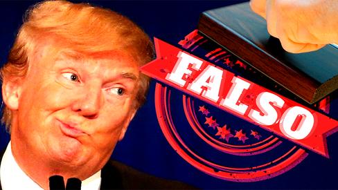 """Donald Trump: A arte de mentir, no pior estilo de Hollywood"""