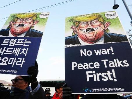 """""""O desenvolvimento acelerado dos mísseis da Coreia do Norte"""""""