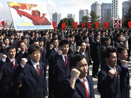 """""""A guerra de Trump ao povo norte-coreano"""""""