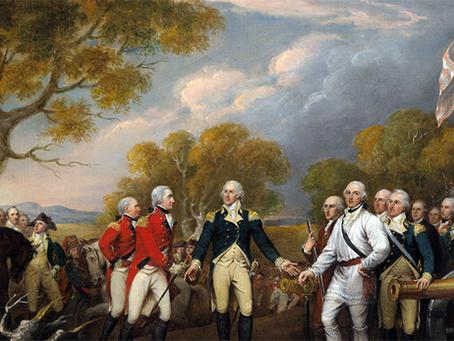 """""""A guerra da Independência e a formação dos Estados Unidos da América"""""""