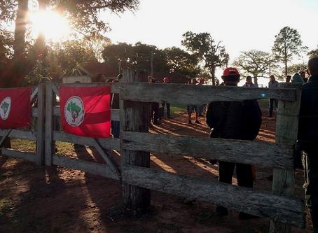 MST ocupa fazenda no município de Gália (SP)