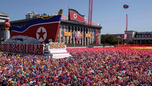 """""""Ninguém pode deter o avanço do povo coreano"""""""