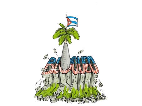 """""""O genocídio do governo dos Estados Unidos contra o povo de Cuba"""""""