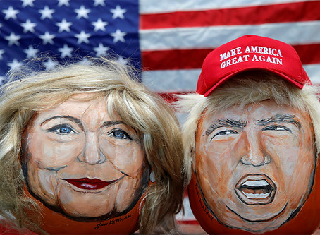 """""""Diversão com dinheiro: eleições presidenciais nos EUA"""""""