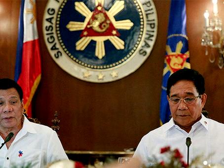 """""""Mais um passo de Duterte para o futuro da ditadura fascista nas Filipinas"""""""