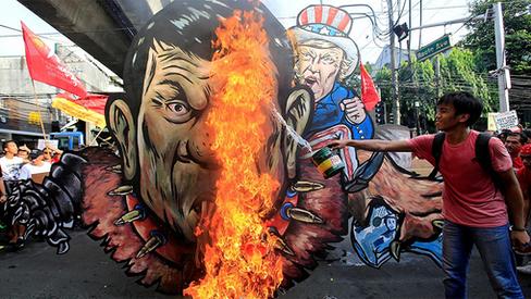 """""""Destruir a ilusão da democracia filipina! Preparar para um Duterte ainda mais violento!"""""""