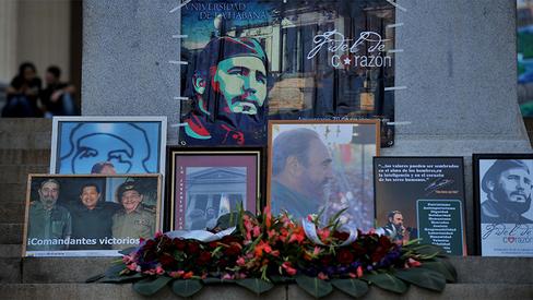 """""""Legado de Fidel será eterno porque seu povo defende os ideais pelos quais ele lutou"""""""