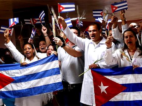 """""""A cruzada dos Estados Unidos contra a cooperação médica internacional de Cuba"""""""