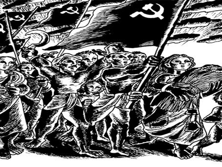 """Vida longa aos heroicos camponeses de Naxalbari!"""