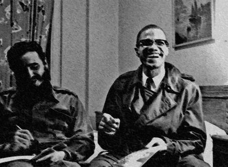 """""""Sobre a visita de Fidel aos bairros pobres e negros de New York"""""""