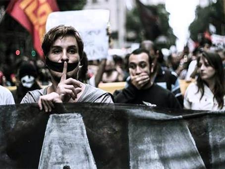 Organizações e movimentos fazem manifesto contra a Lei do antiterrorismo