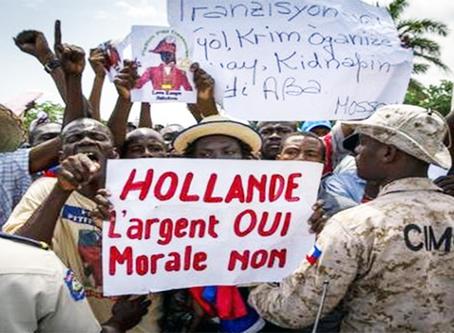 Haiti - do tráfico de escravos à escravatura econômica da dívida