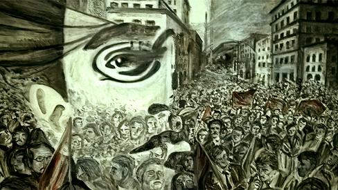 """""""A revolução de outubro na Rússia e o movimento operário na Itália"""""""