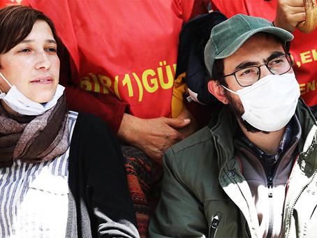Solidariedade aos professores Nuriye Gulmen e Semih Ozakca em sua greve de fome