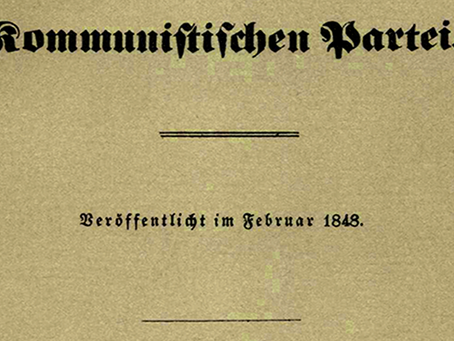 """""""A História do Manifesto do Partido Comunista de Marx e Engels"""""""