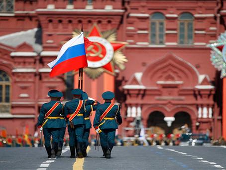 Desfile celebra 70 anos da vitória soviética na Grande Guerra Patriótica
