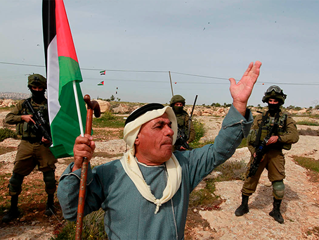 Ataques terroristas sionistas e as lutas das massas palestinas