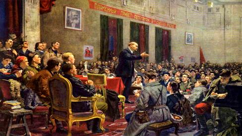 """""""Lenin, o orador"""""""