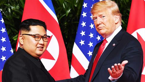 """""""Declaração conjunta assinada entre Kim Jong Un e Donald Trump"""""""