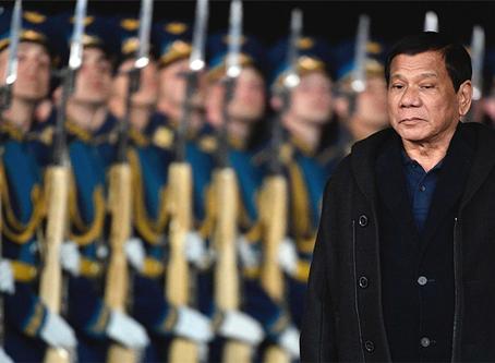 """""""Sobre o plano de estender a lei marcial em Mindanao até o fim do ano"""""""