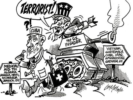"""""""O terrorismo como política de Estado contra Cuba"""""""