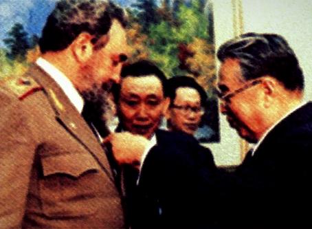 """Discurso de Fidel Castro em Pyongyang"""