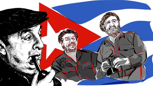 """""""Neruda sobre Fidel e Che"""""""