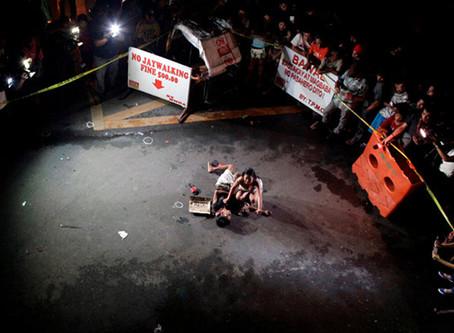 """""""Por fim à cooperação com a 'guerra às drogas' antidemocrática e antipovo de Duterte&qu"""