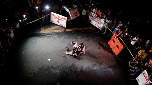 """""""Por fim à cooperação com a 'guerra às drogas' antidemocrática e antipovo de Duterte"""""""