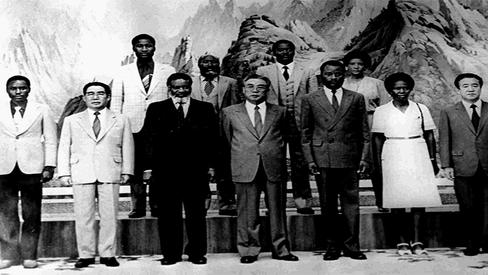 """Coreia Popular e a luta contra o Apartheid"""