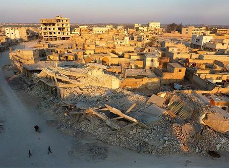 """""""Infraestruturas e vidas destruídas são os feitos da Coligação contra o Daesh """""""