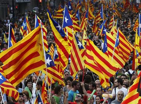 """""""Sobre a luta democrática pelo referendo da Catalunha"""""""