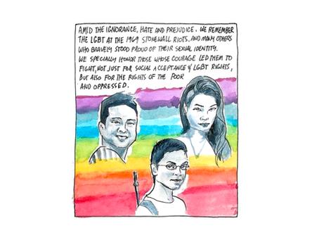 """""""Orgulho é protesto: uma luta dos oprimidos"""""""