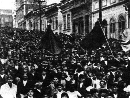 """""""Lutas Operárias que Antecederam a Fundação do PCB"""""""