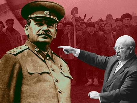 """""""O golpe de Khruschev: a morte de Stalin e ascensão khruschvista ao poder"""""""