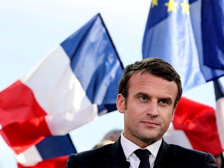 """""""Macron, o que quer dizer isso em francês?"""""""