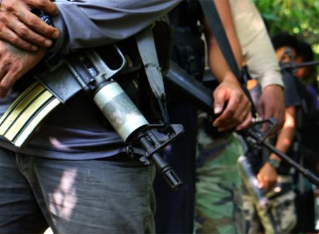 Consecutivas Ofensivas do Novo Exército Popular contra as Forças Armadas das Filipinas