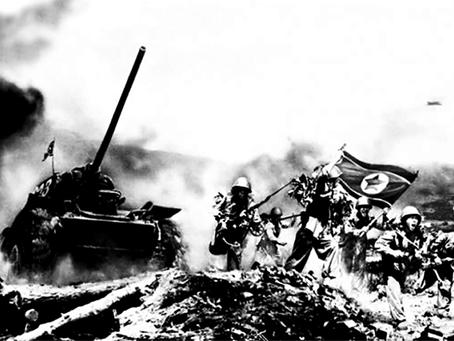 """""""Proezas da classe trabalhadora e camponesa na retaguarda durante a Guerra da Coreia"""""""