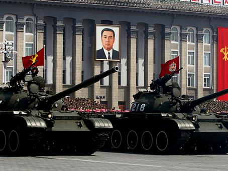 """""""Princípio de independência anti-imperialista e socialismo se defende com forças armadas"""""""