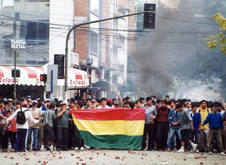 """""""A luta pela água na América Latina"""""""