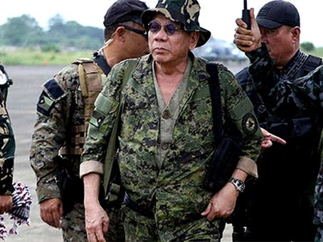 """""""Frustrar os planos de Duterte de instaurar uma ditadura fascista nas Filipinas"""""""