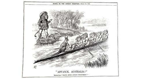"""""""Romper com os grilhões do Imperialismo: a luta pela independência na Austrália"""""""