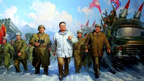 """Kim Jong Un: """"Sigamos na construção de um próspero país aplicando o Patriotismo de Kim Jong Il"""""""