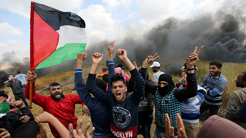 """A lenta agonia palestina"""