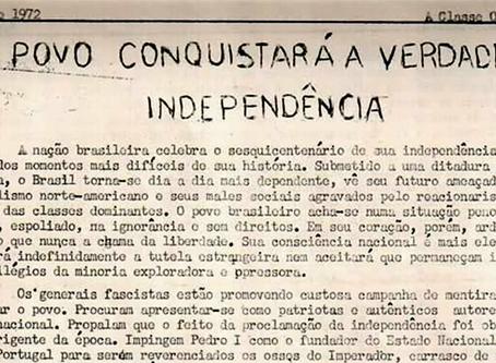 """Pomar: """"O povo conquistará a verdadeira independência"""""""