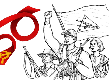"URC: ""Defender a Guerra Popular! Viva os 50 anos do Partido Comunista das Filipinas!"""